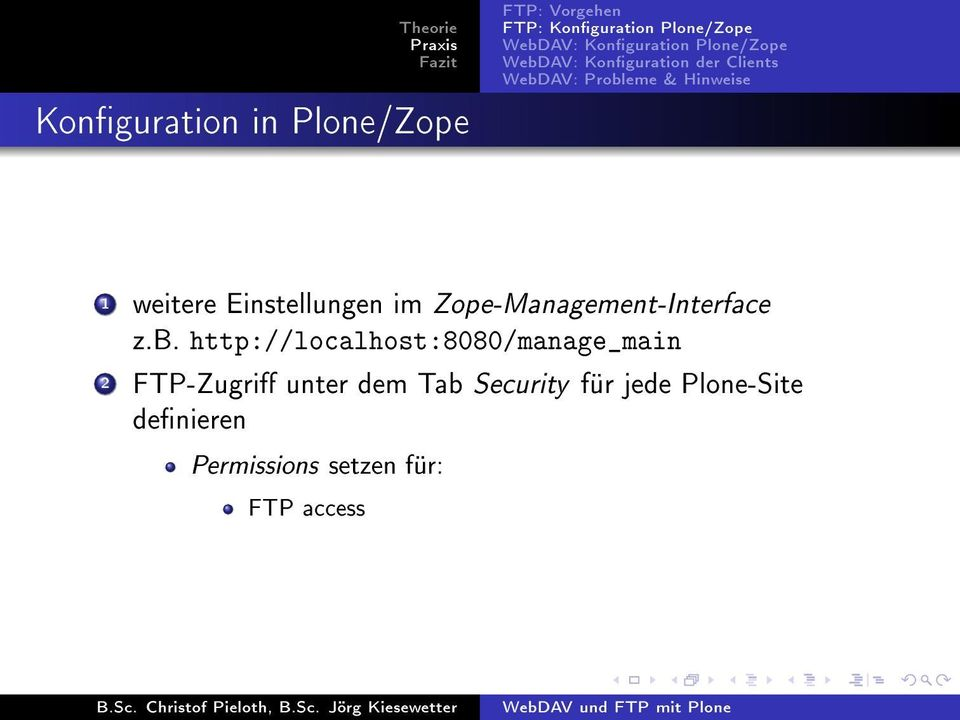 http://localhost:8080/manage_main 2 FTP-Zugri unter