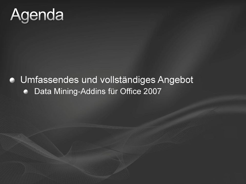 Angebot Data
