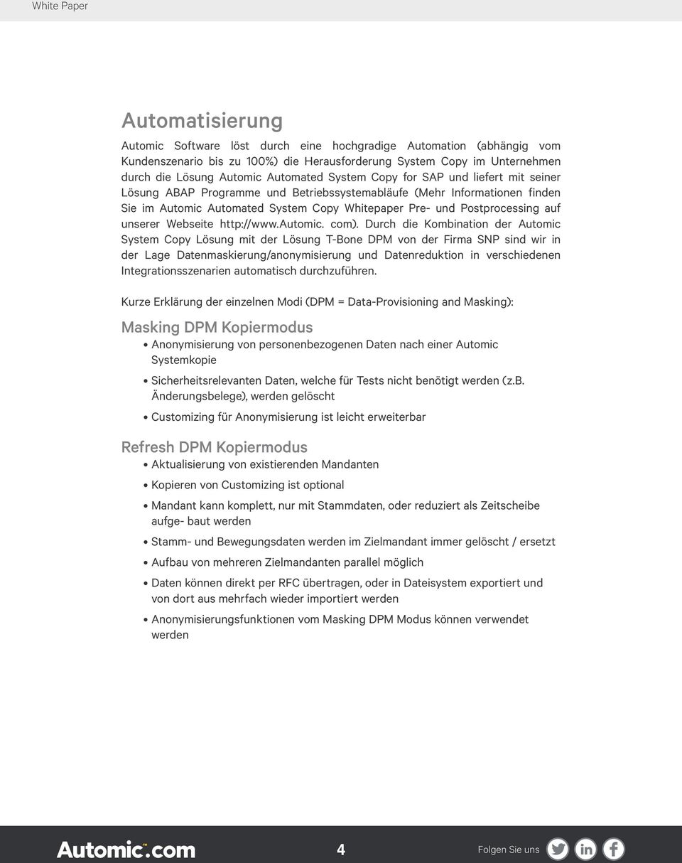 unserer Webseite http://www.automic. com).