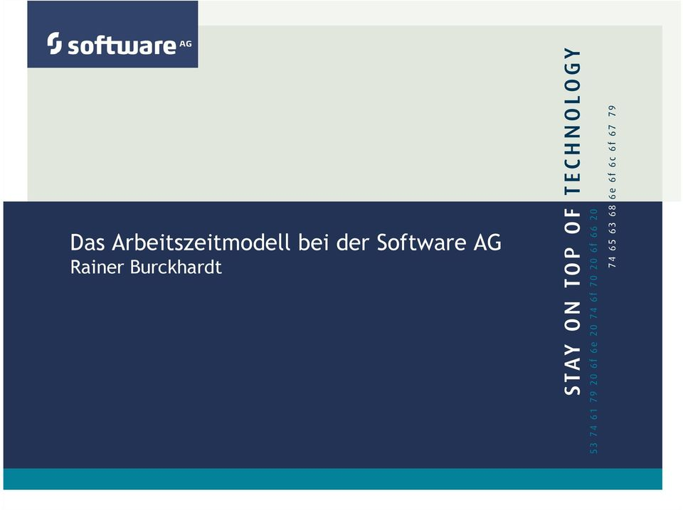 Software AG Rainer
