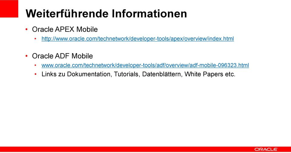 html Oracle ADF Mobile www.oracle.