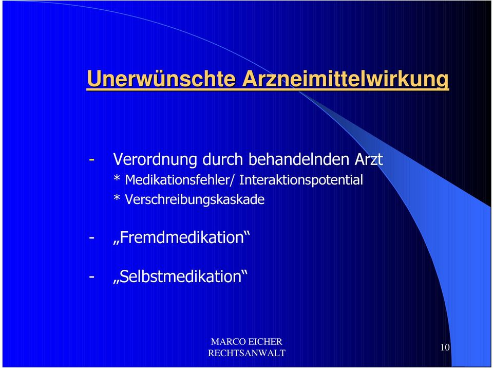 Medikationsfehler/ Interaktionspotential *