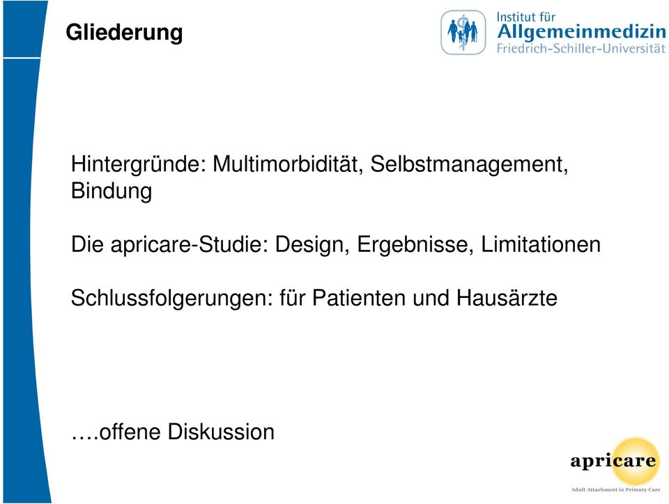 Design, Ergebnisse, Limitationen