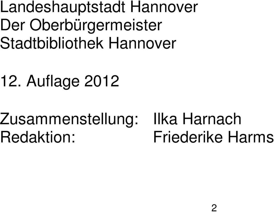 Hannover 12.