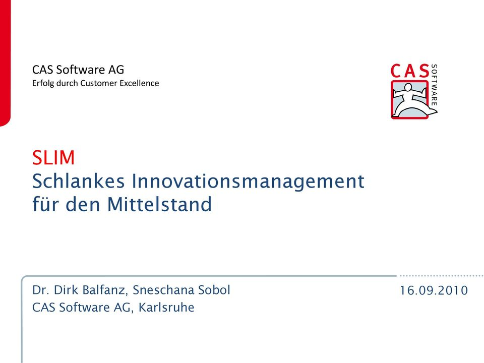 Innovationsmanagement für den Mittelstand