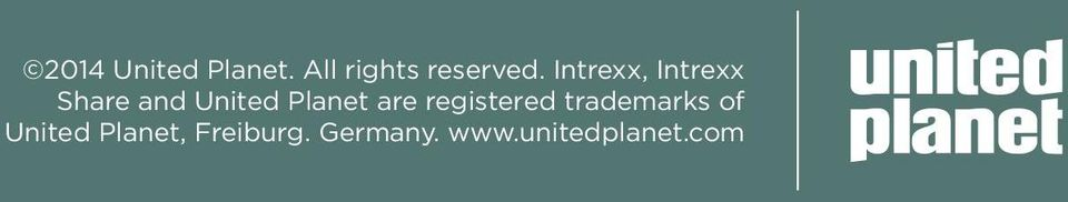 are registered trademarks of United