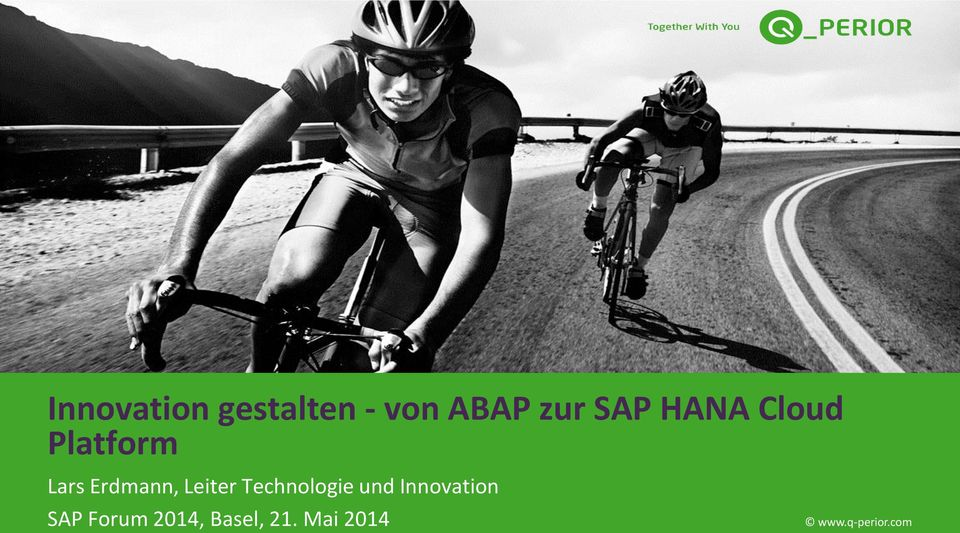 Leiter Technologie und Innovation SAP