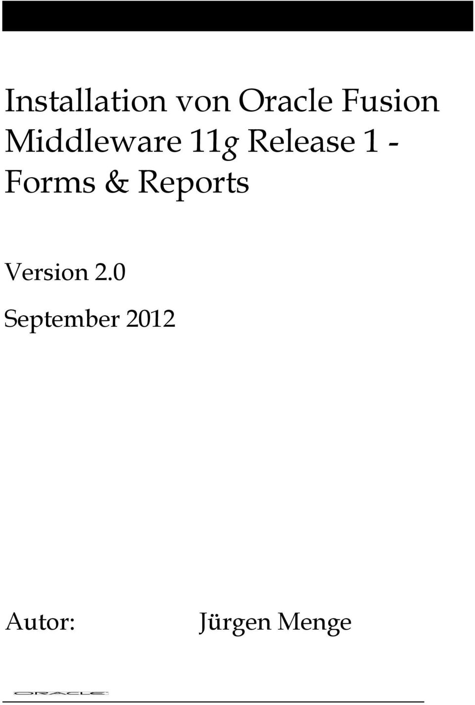 1 - Forms & Reports Version 2.