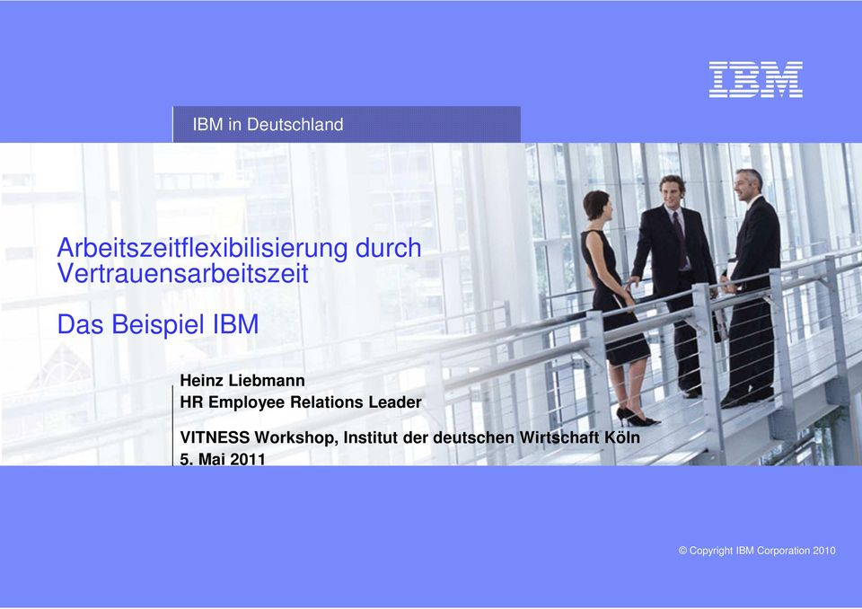 Liebmann HR Employee Relations Leader VITNESS