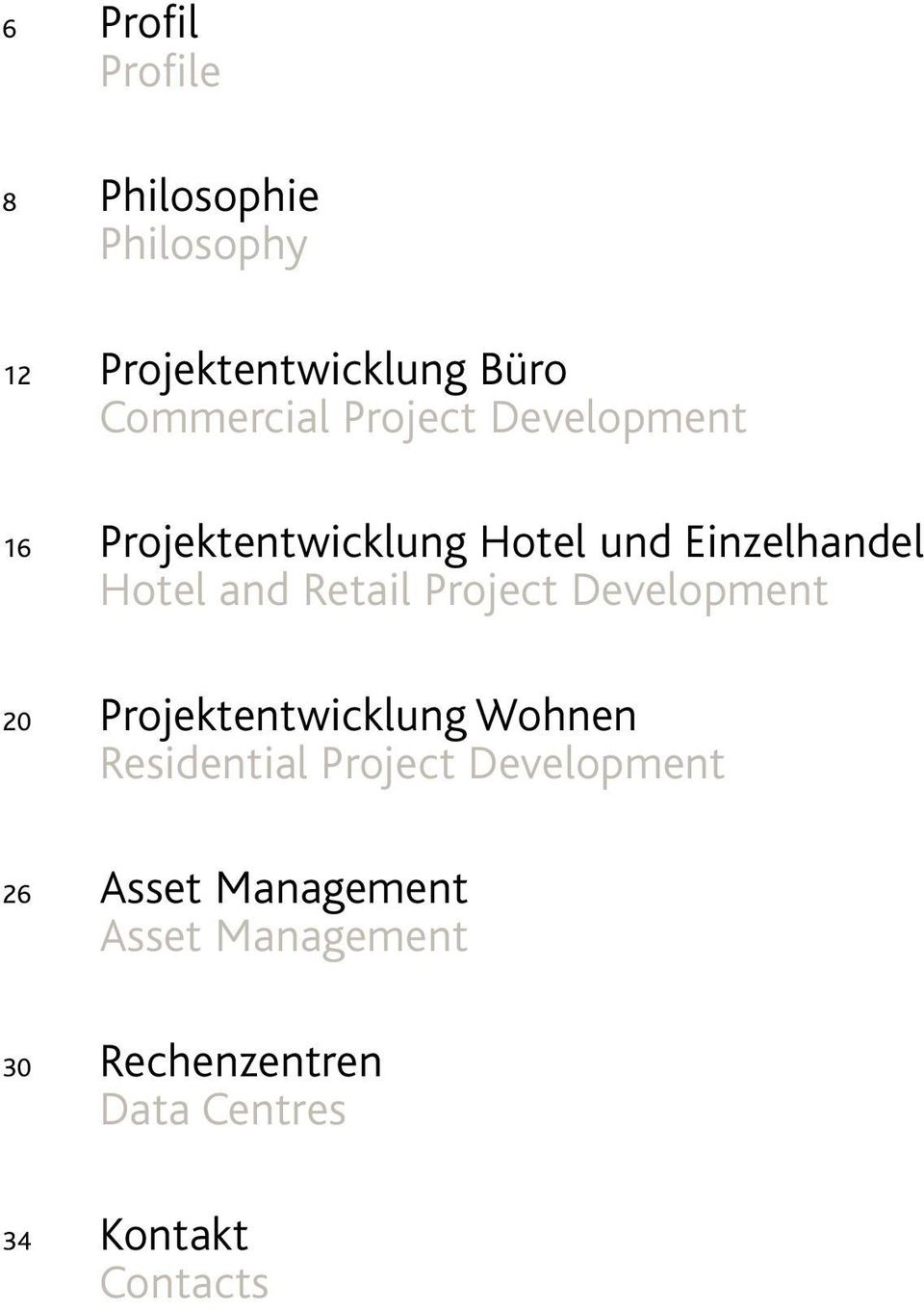 Project Development 20 Projektentwicklung Wohnen Residential Project Development