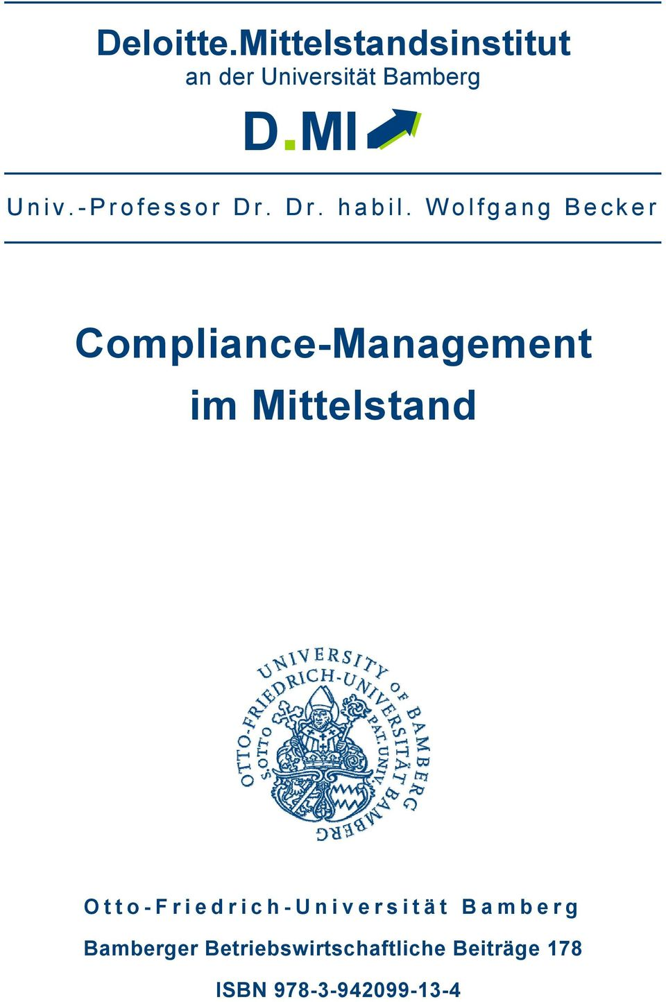 Wolfgang Becker Compliance-Management