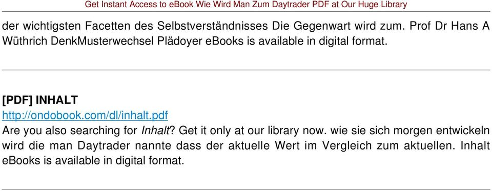 com/dl/inhalt.pdf Are you also searching for Inhalt? Get it only at our library now.