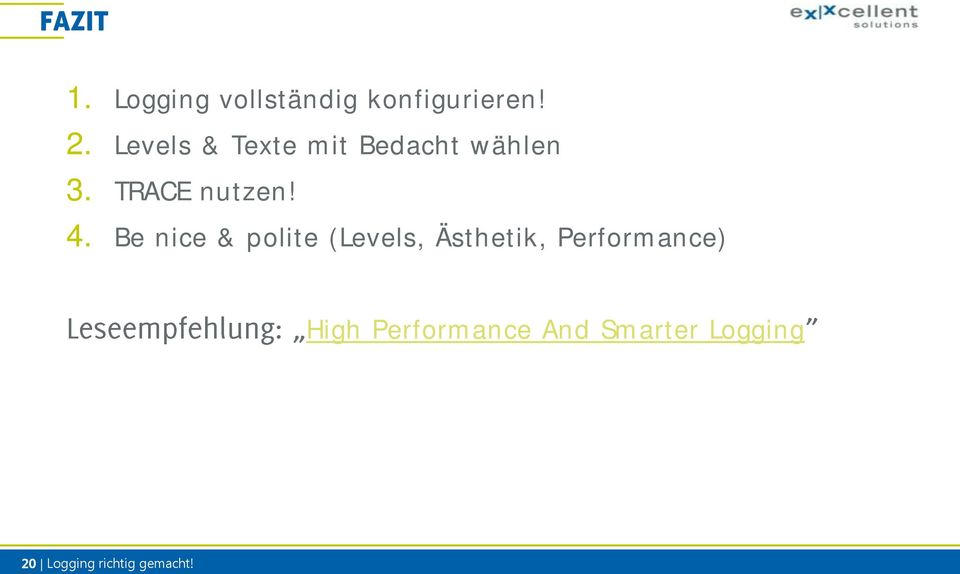 Be nice & polite (Levels, Ästhetik, Performance) High