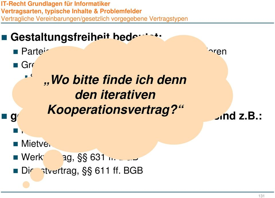Kooperationsvertrag?