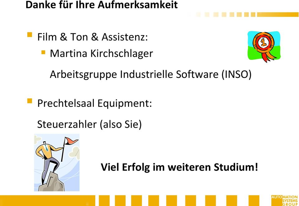 Industrielle Software (INSO) Prechtelsaal