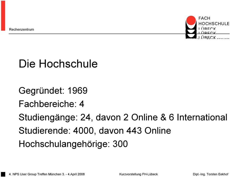 2 Online & 6 International Studierende: