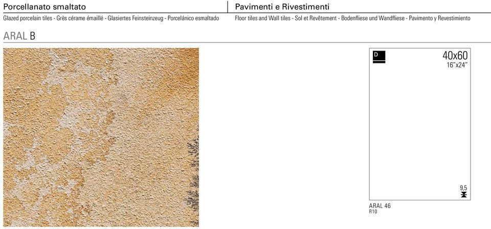 Rivestimenti Floor tiles and Wall tiles - Sol et Revêtement -