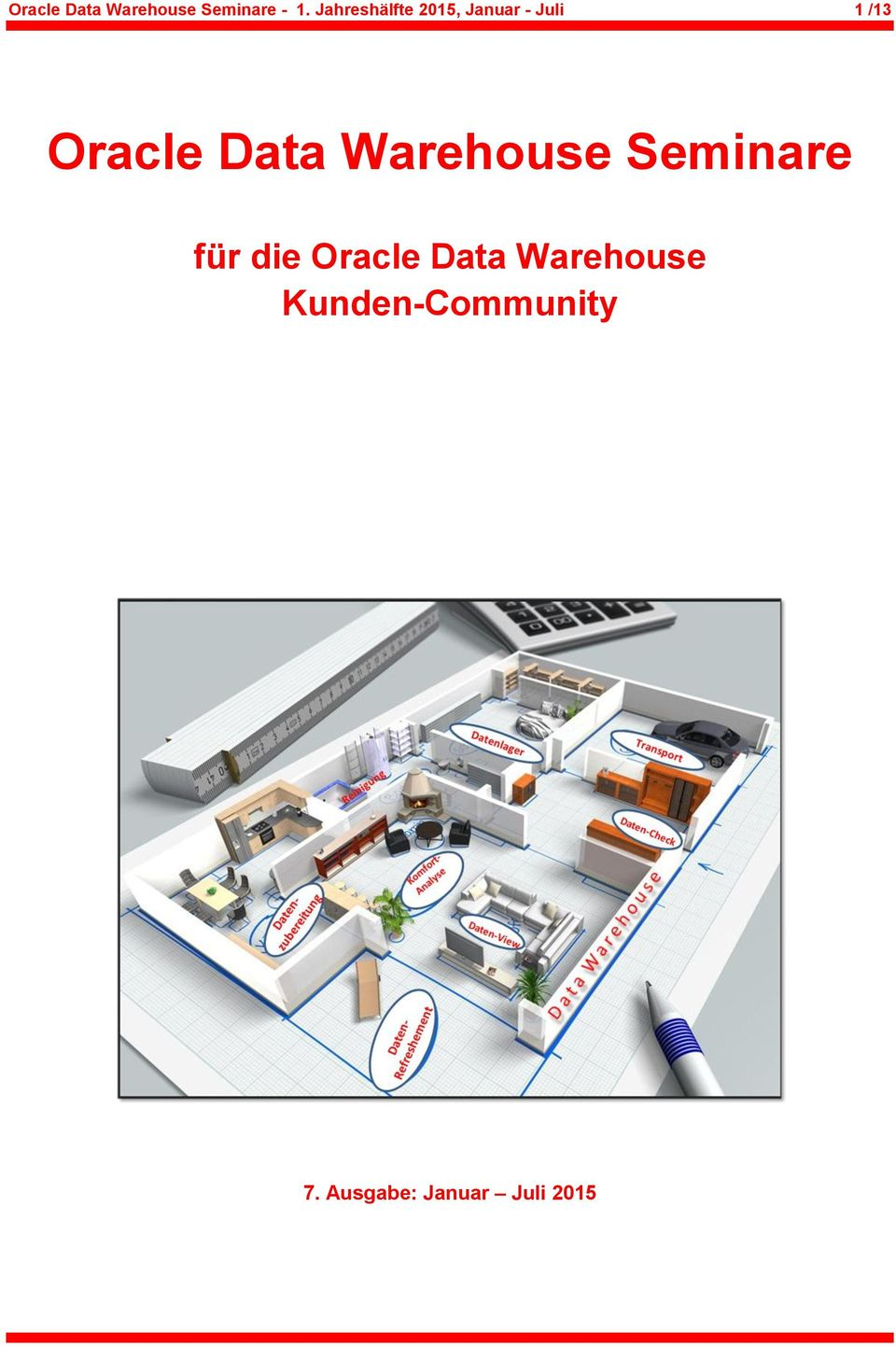 Data Warehouse Seminare für die Oracle Data