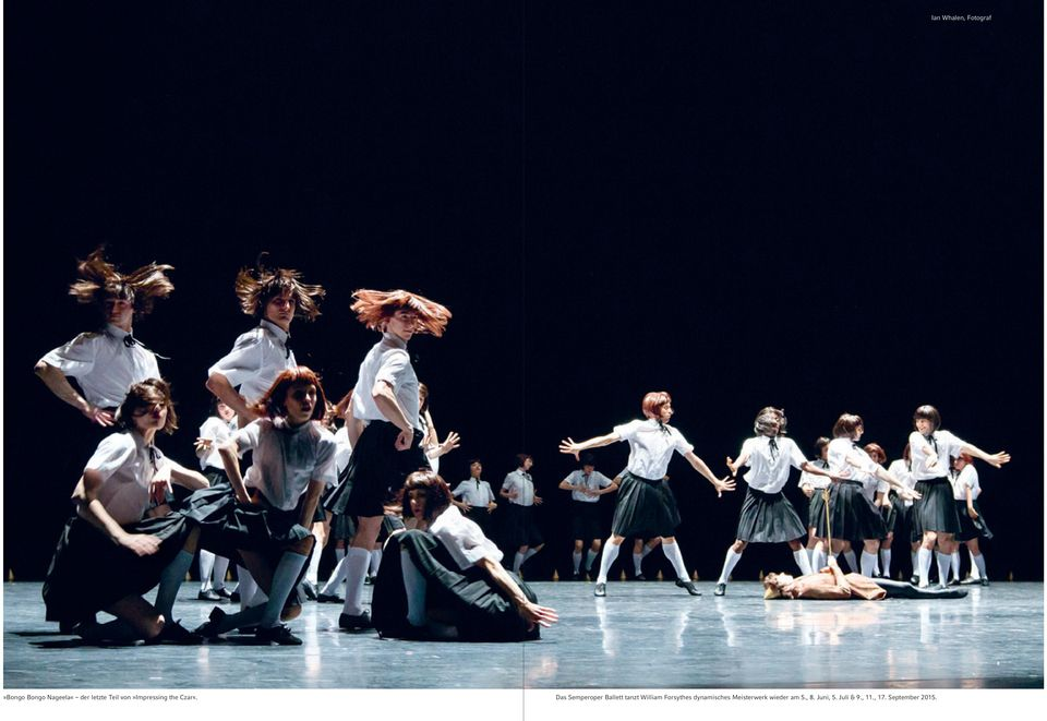 Das Semperoper Ballett tanzt William Forsythes