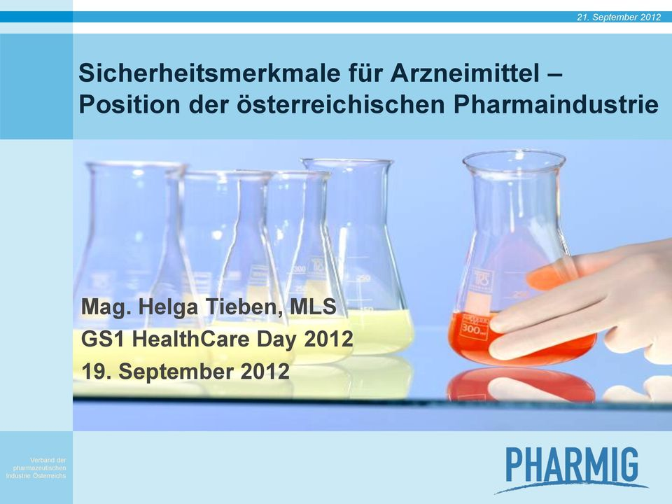 Pharmaindustrie Mag.