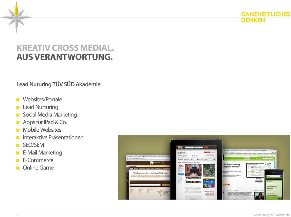 Nurturing Social Media Marketing Apps für ipad & Co.
