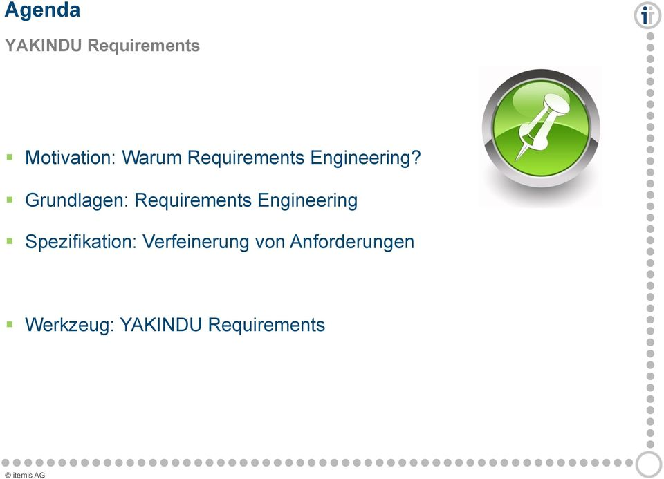 Grundlagen: Requirements Engineering
