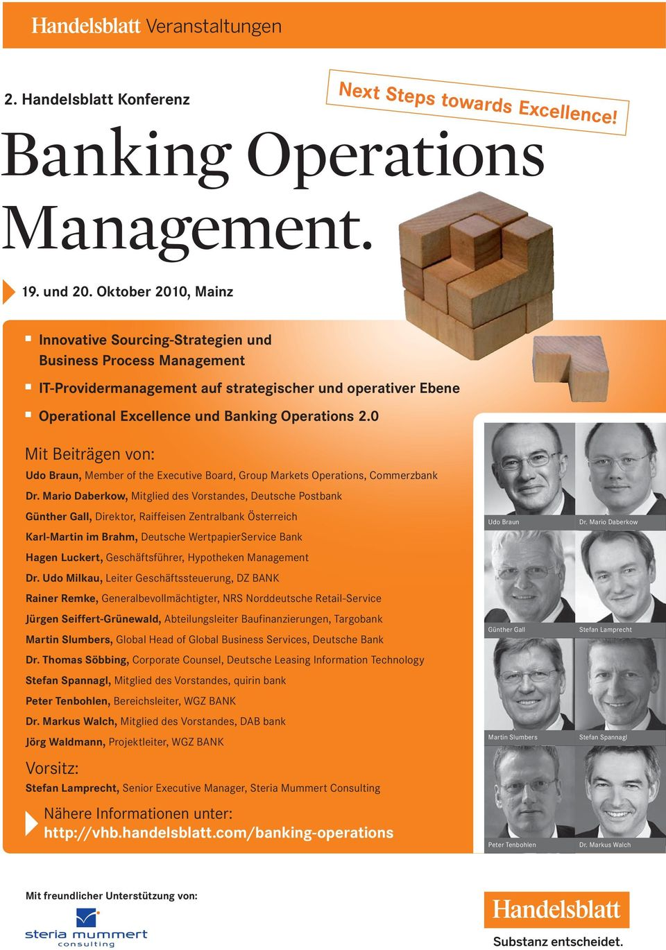 0 Mit Beiträgen von: Udo Braun, Member of the Executive Board, Group Markets Operations, Commerzbank Dr.