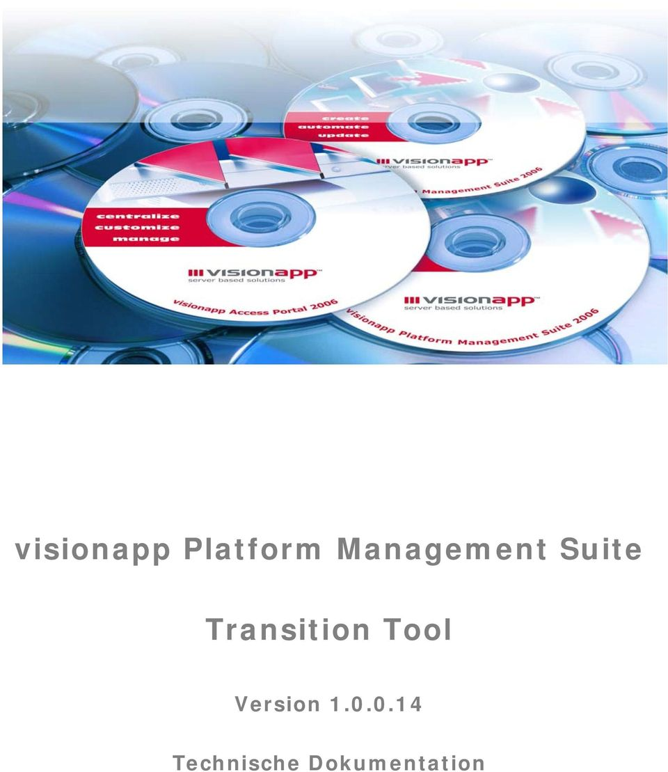 Transition Tool Version