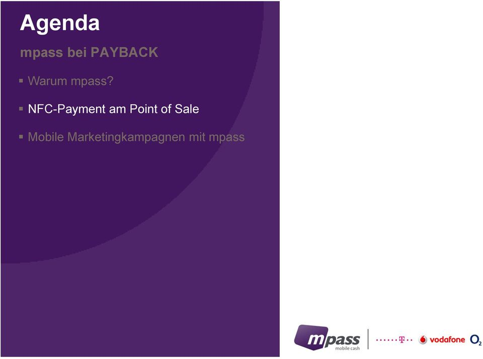 NFC-Payment am Point of