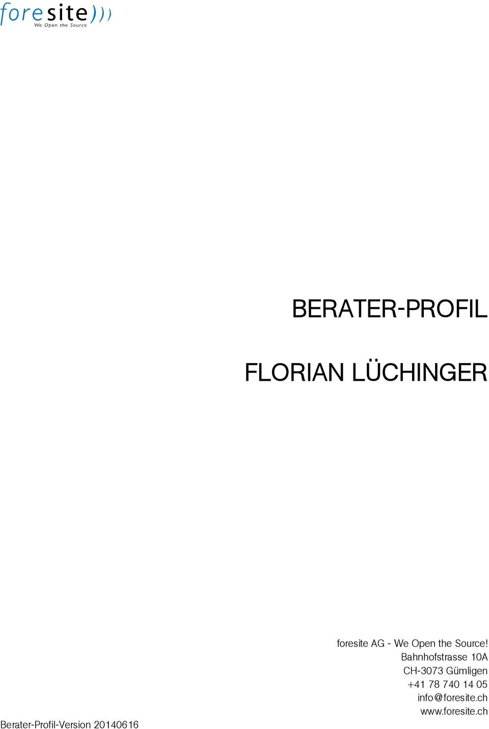 We Open the Source!