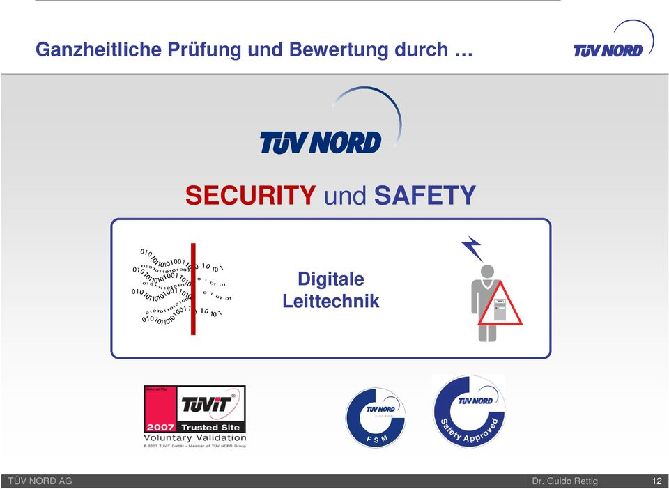 SECURITY und SAFETY