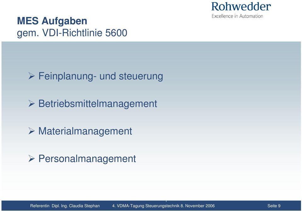 Betriebsmittelmanagement Materialmanagement