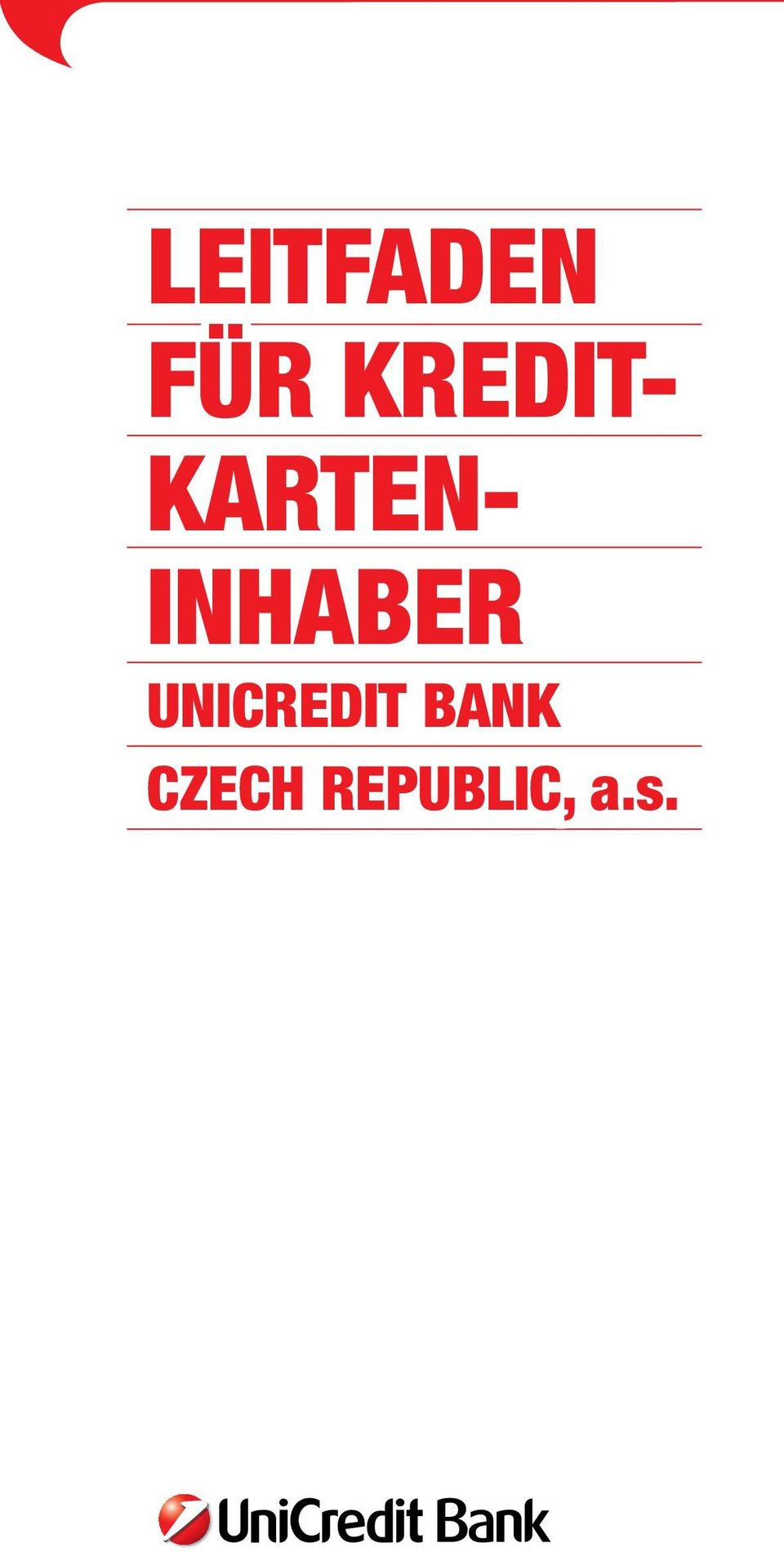 INHABER UNICREDIT