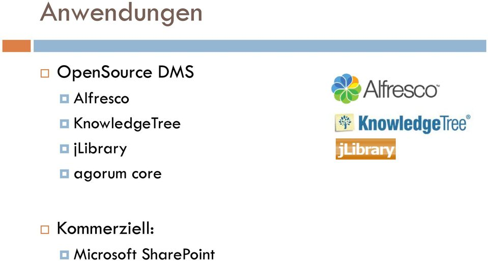 KnowledgeTree jlibrary