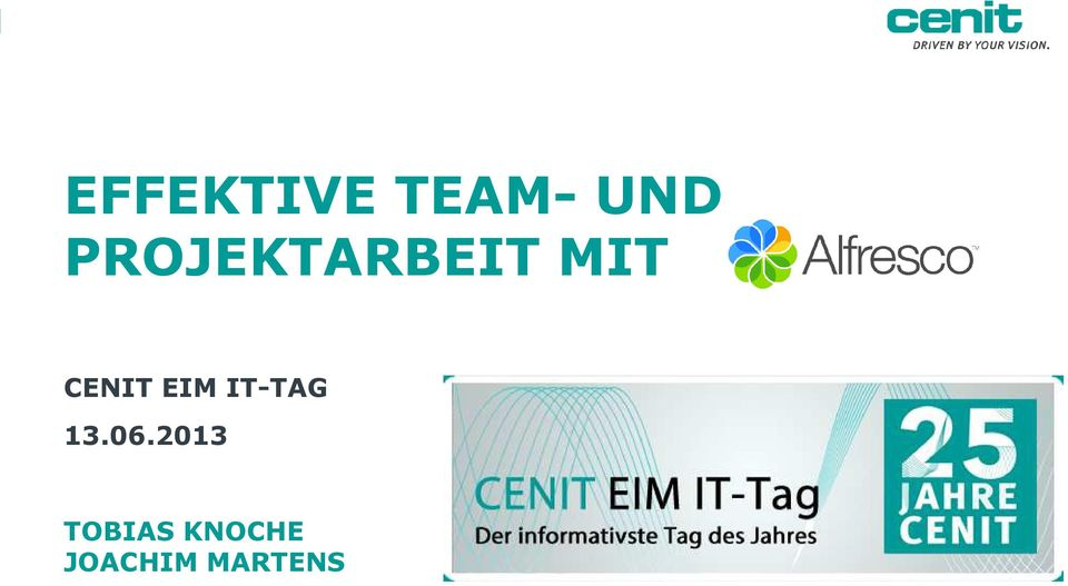 EIM IT-TAG 13.06.