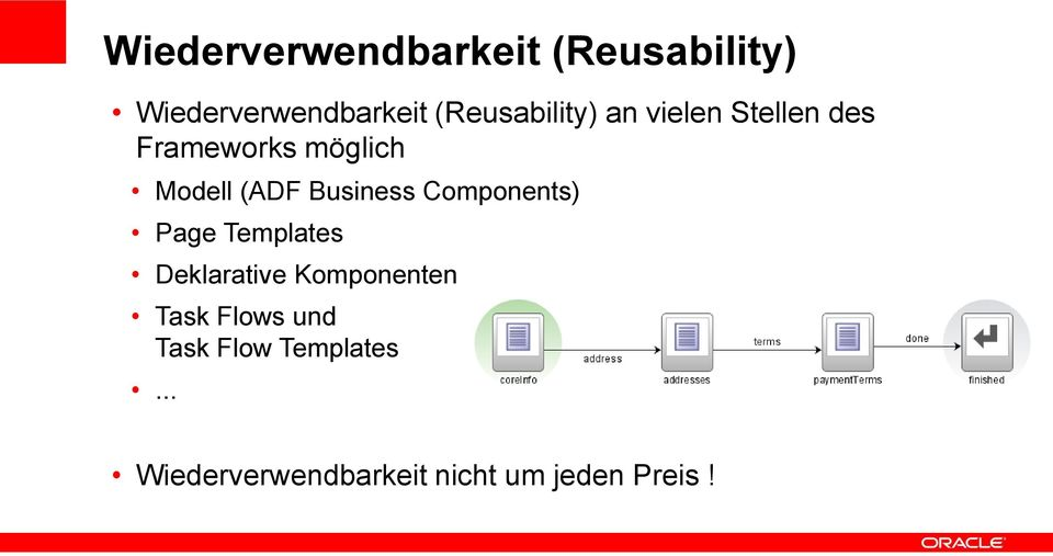 (ADF Business Components) Page Templates Deklarative Komponenten