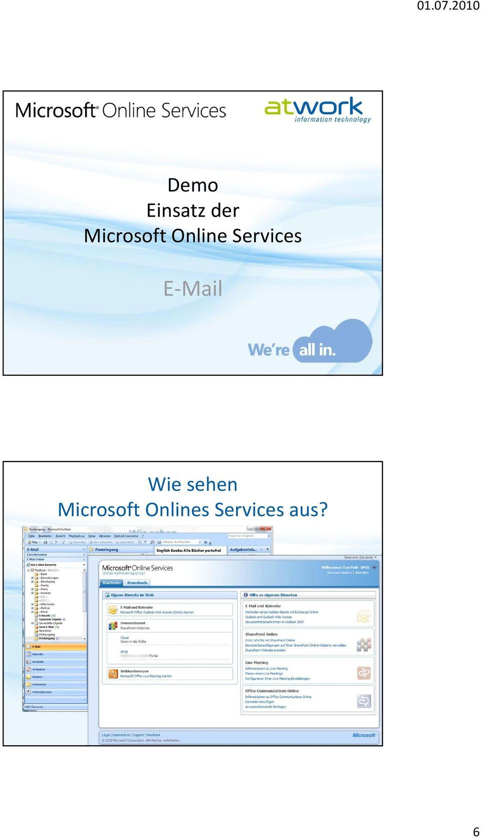 Services E Mail Wie