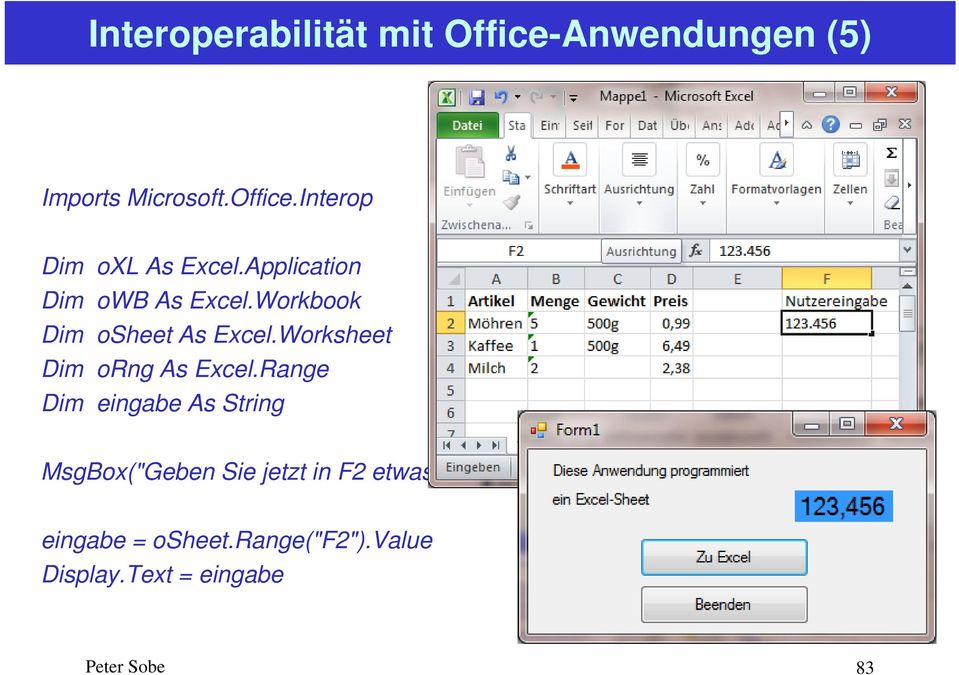Worksheet Dim orng As Excel.