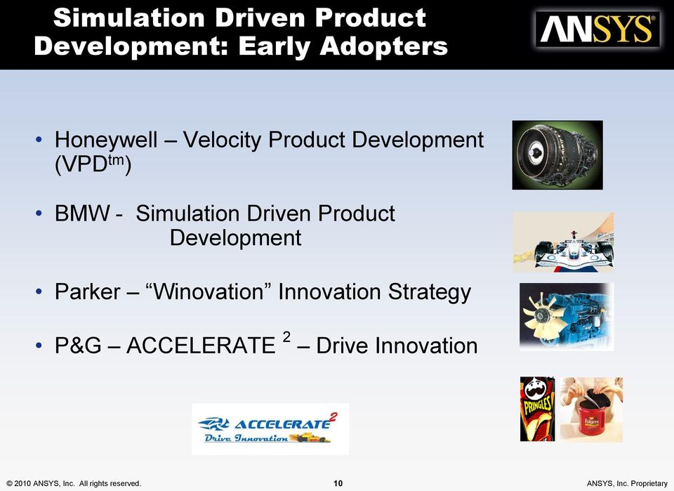 Development Parker Winovation Innovation Strategy P&G ACCELERATE 2