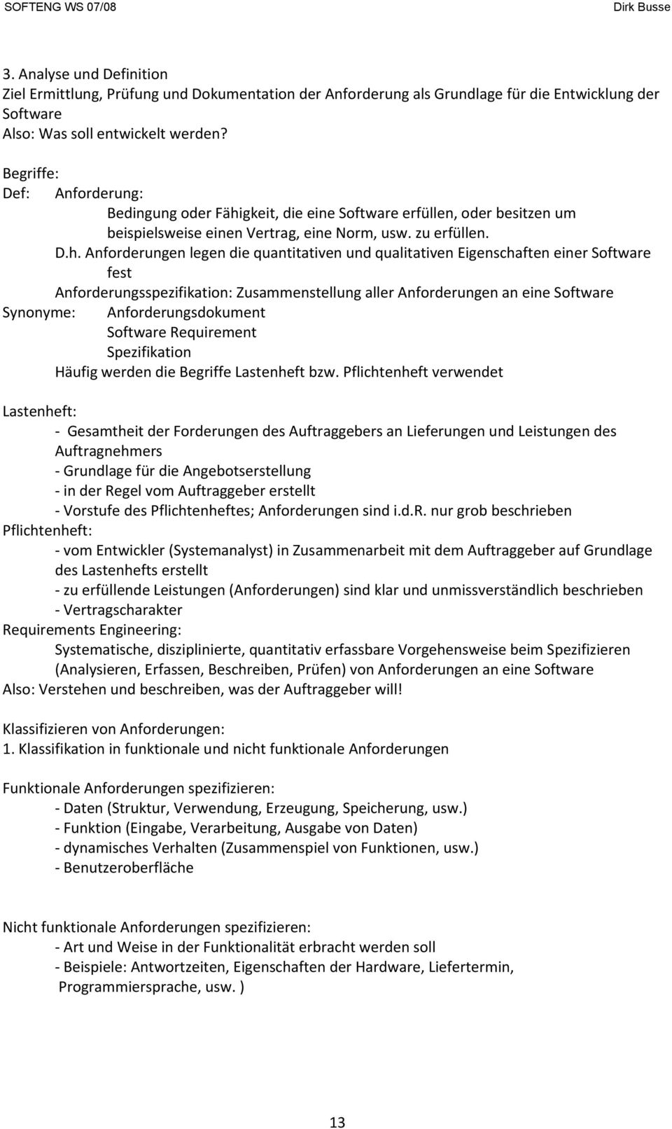 1. Was ist Software Engineering? - PDF