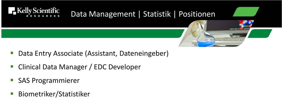 Dateneingeber) Clinical Data Manager /