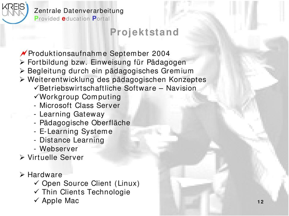 Betriebswirtschaftliche Software Navision Workgroup Computing - Microsoft Class Server -Learning Gateway -