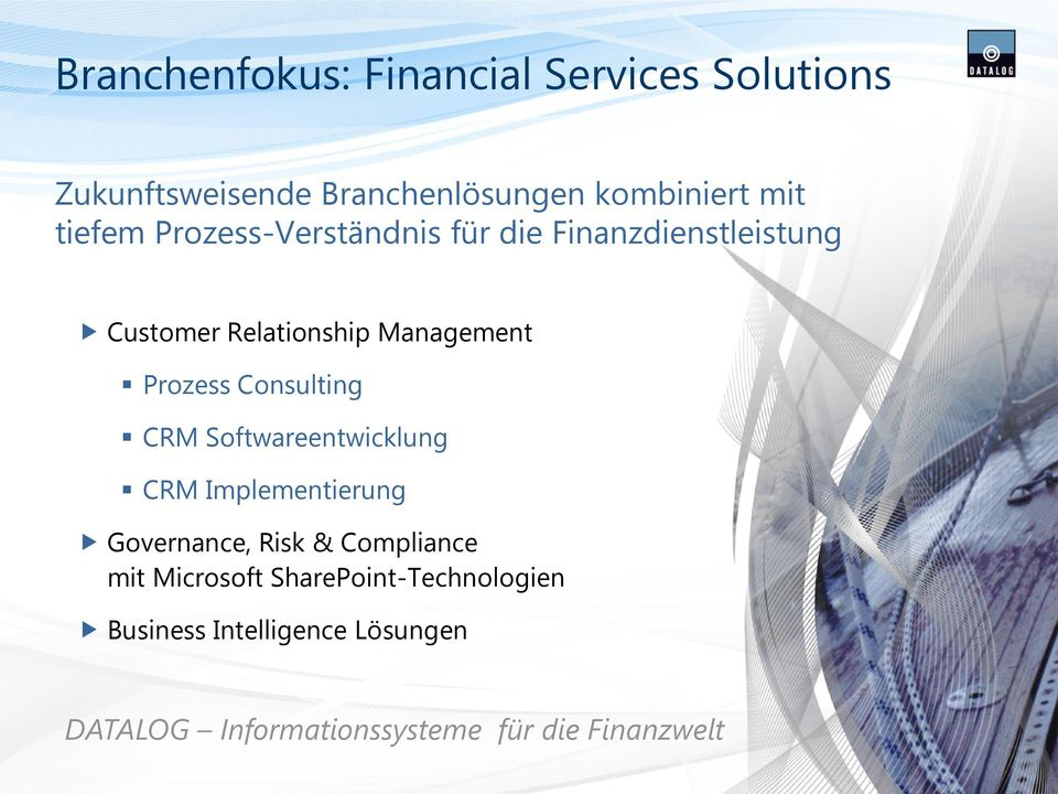 Consulting CRM Softwareentwicklung CRM Implementierung Governance, Risk & Compliance mit