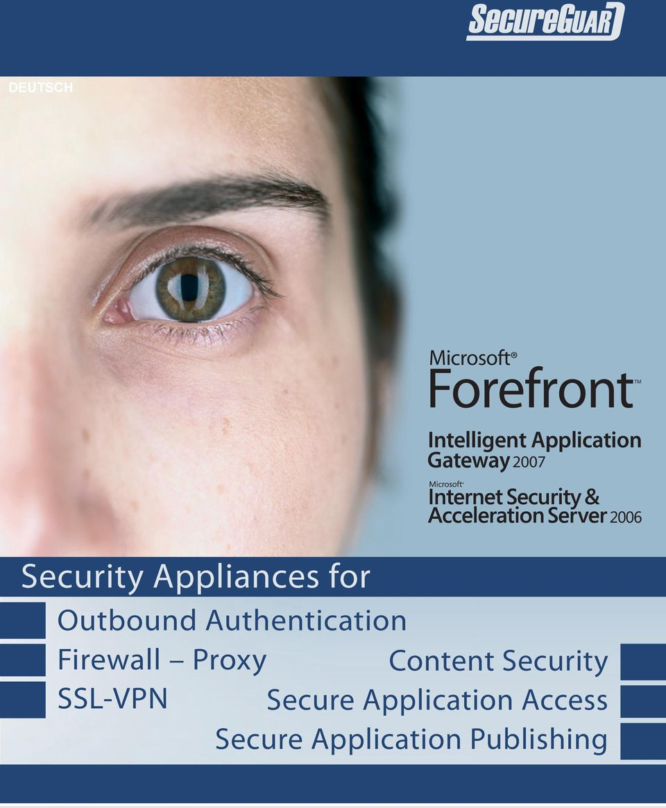 Outbound Authentication Firewall Proxy Content