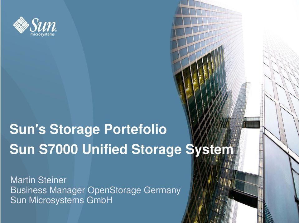 Steiner Business Manager OpenStorage