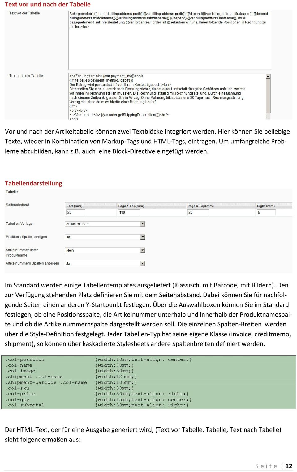 Pdfprint magento extension magento extension extension for Table th vs thead