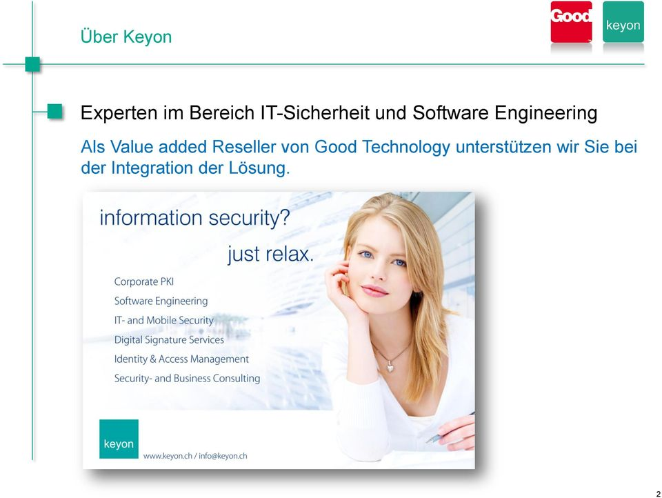 Value added Reseller von Good Technology