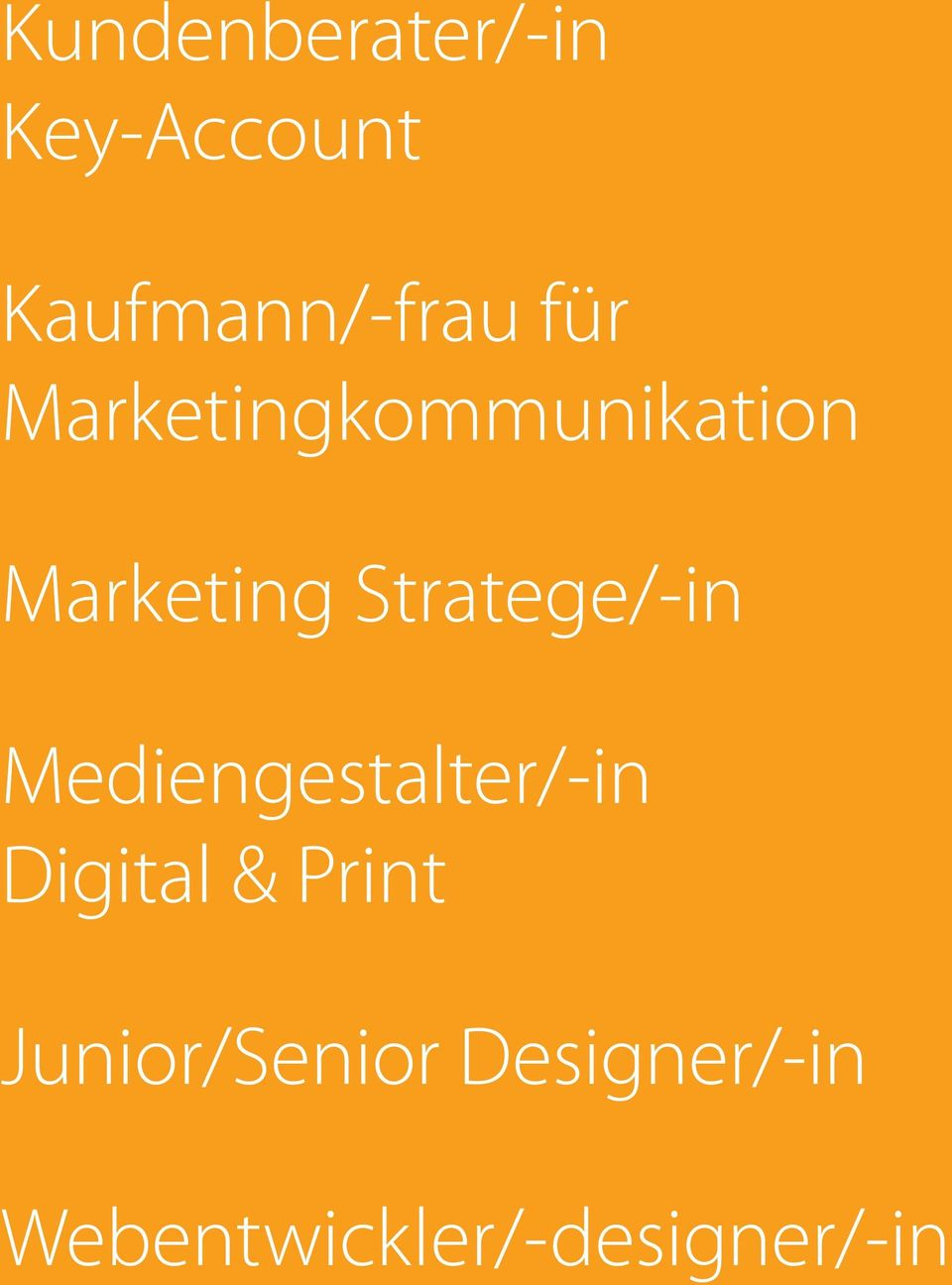 Stratege/-in Mediengestalter/-in Digital &