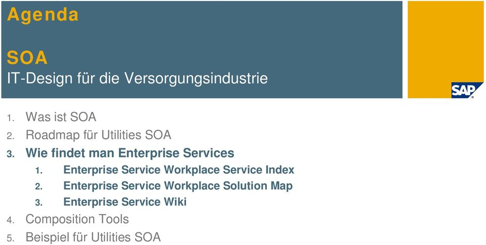 Enterprise Service Workplace Service Index 2.