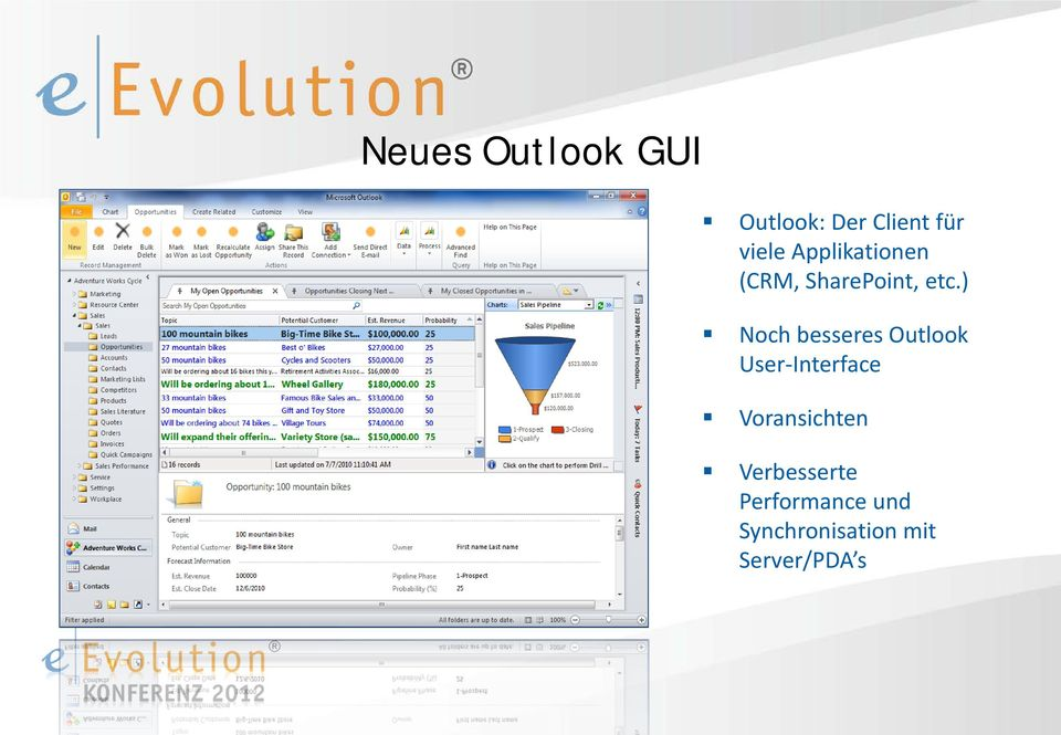 ) Noch besseres Outlook User-Interface